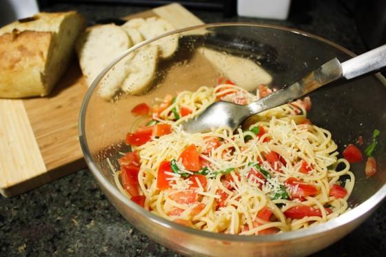 Vodka-Spiked Tomato Pasta