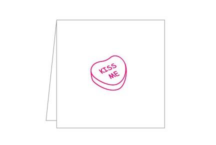 Pink Notecard