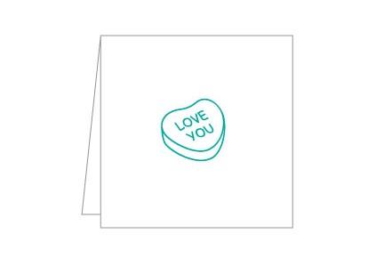 Green Notecard